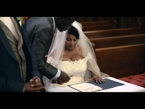 Ghana most beautiful bride dressed by galia fahd fashion designer from dubai