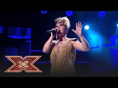 """Finala X Factor 2018. Cristina Vasopol cântă melodia """"The Show Must Go On"""""""