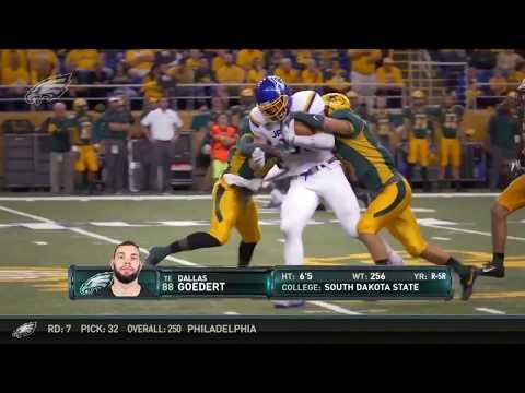 Eagles Press Pass: TE Dallas Goedert (4/28/18)