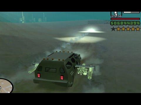 Putting Mini Guns & Missiles On Any Vehicle Mod GTA San Andreas