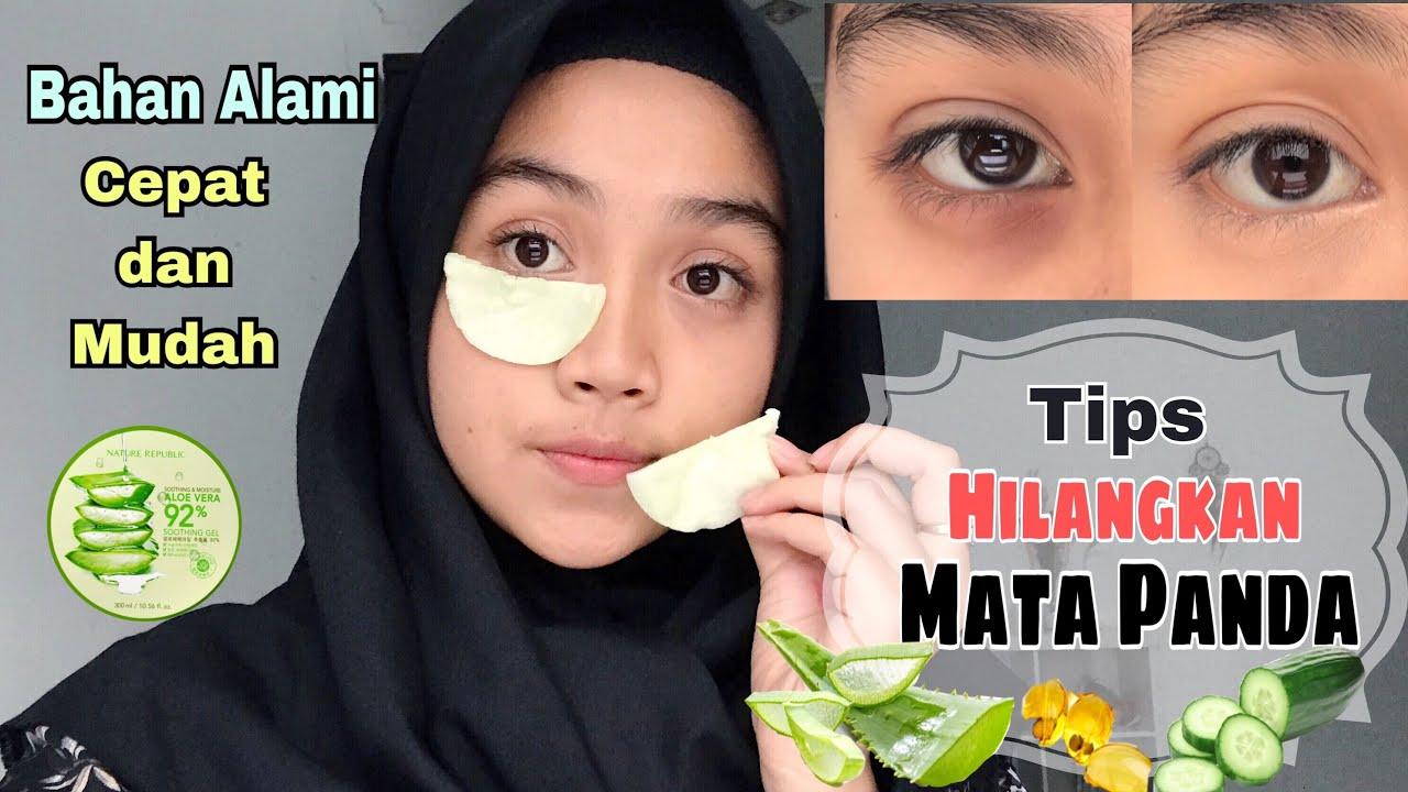 Cara Menghilangkan Mata Panda Youtube Bioaqua Masker Hitam Eye Mask