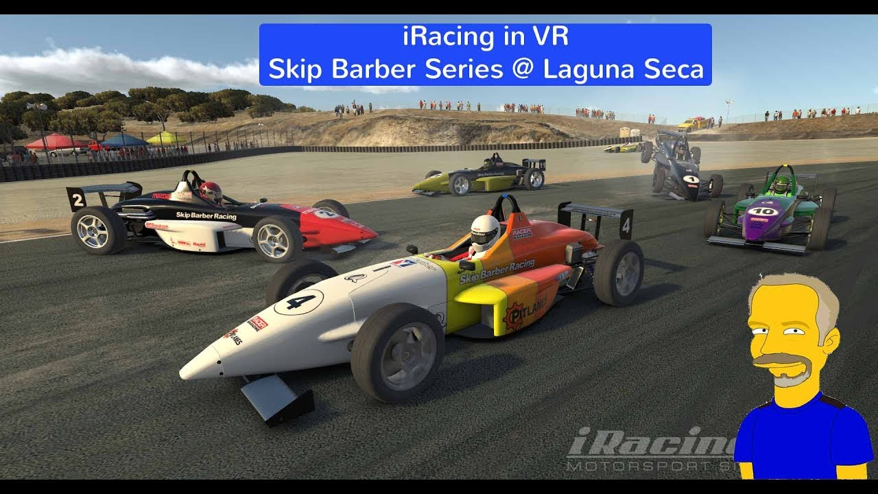 iRacing in VR - Skip Barber @ Laguna Seca