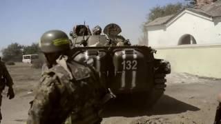 Бой Украина новости Ато Эксклюзив видео боя Война на Донбассе