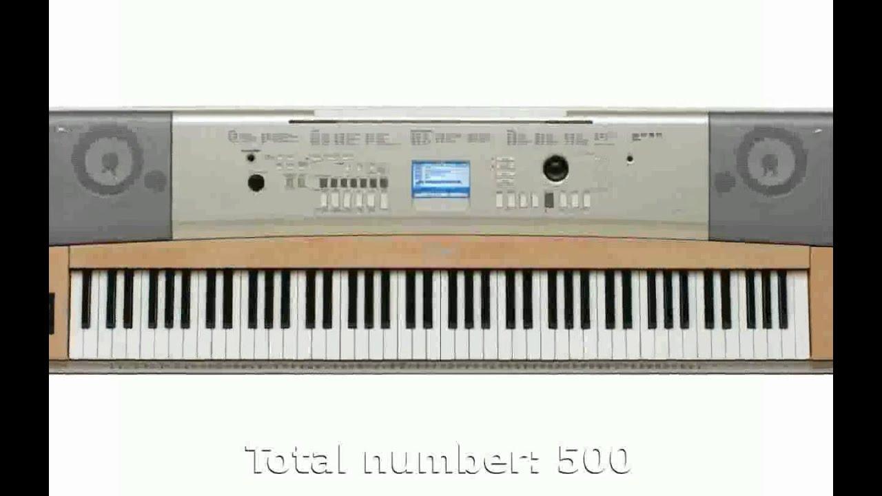 Yamaha Keyboards Portable