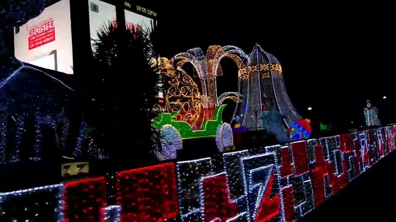 Zenith Bank Street Lighting For Christmas Decorations 2017