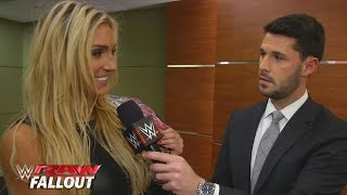 Charlotte makes it official after a very personal night on Raw: Raw Fallout, November 16, 2015