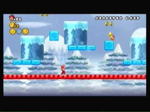 New Super Mario Bros Wii Episode 3-World 3 (Snow Land)