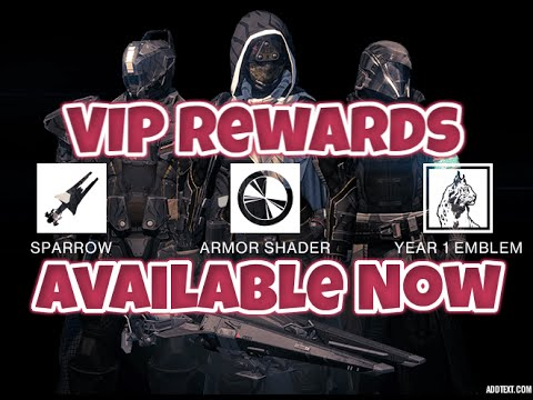 Destiny Year One VIP Rewards Available - The Old Guard ...