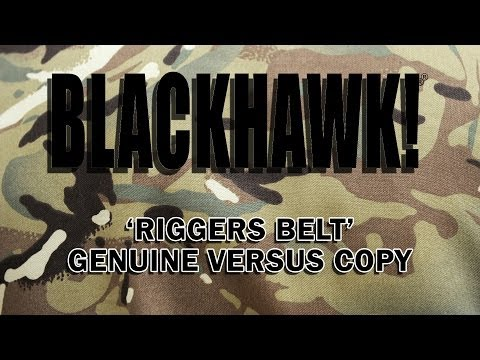 Blackhawk QCB Riggers Belt - Fake and Real Comparison HD