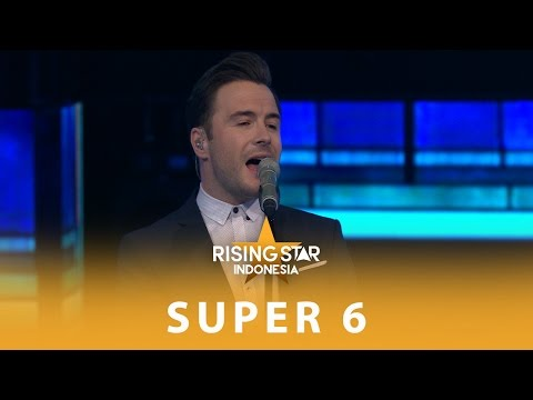Shane Filan Beautiful In White  Super 6  Rising Star Indonesia 2016