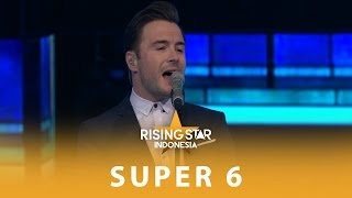 Shane Filan 34 Beautiful In White 34 Super 6 Rising Star Indonesia 2016