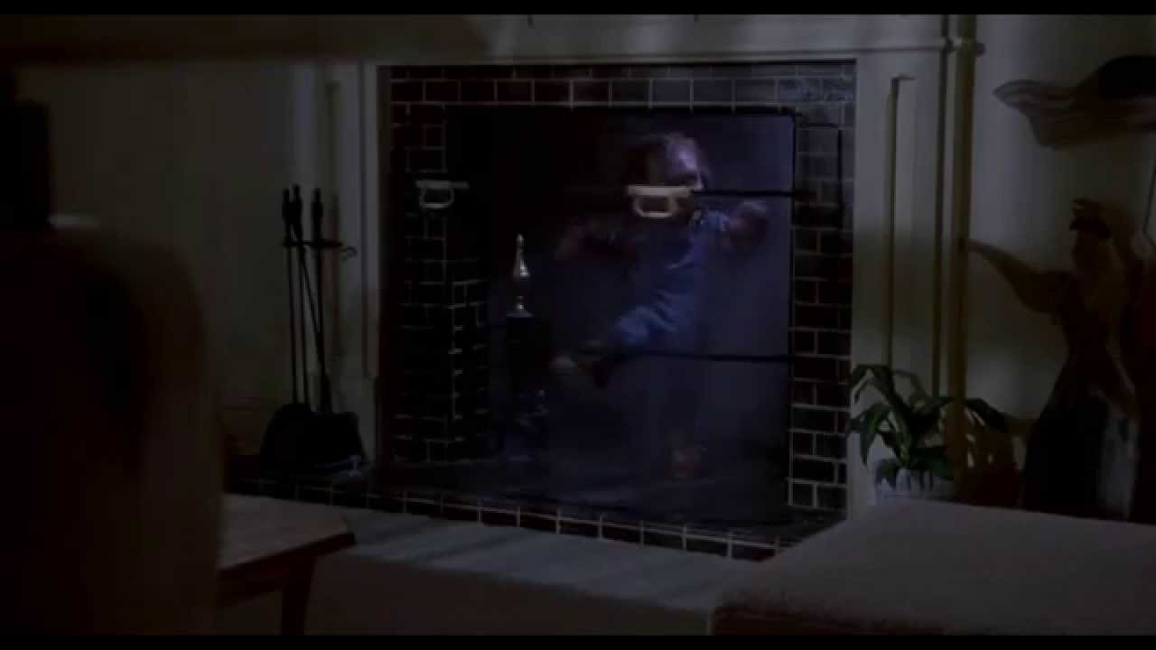 Chucky coming down the fireplace - Child's Play [1080p HD] - YouTube
