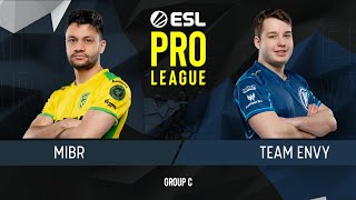 CS:GO - MIBR vs. Envy [Cache] Map 1 - Group C - ESL Pro League Season 9 Americas