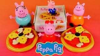 Peppa Pig Mini Pizzeria Play Set Mummy Pig Daddy Pig George Pig Peppapig