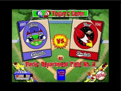 Lets Play: Backyard Baseball PC 1997  Part 1 The Rise Of Evil
