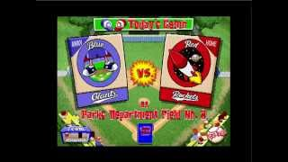 Lets Play: Backyard Baseball PC 1997- Part 1 The Rise of Evil