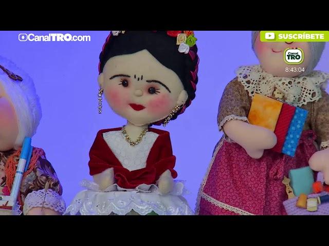 Muñeca costurero - Hecho con Estilo