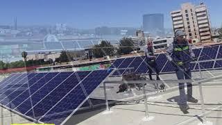 Instalación de 40 Paneles Solares a Frutería Ortíz