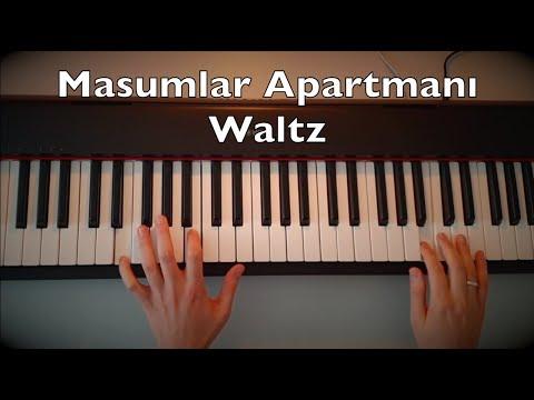 Masumlar Apartmanı - Waltz Piano Tutorial   Dizi Müziği indir