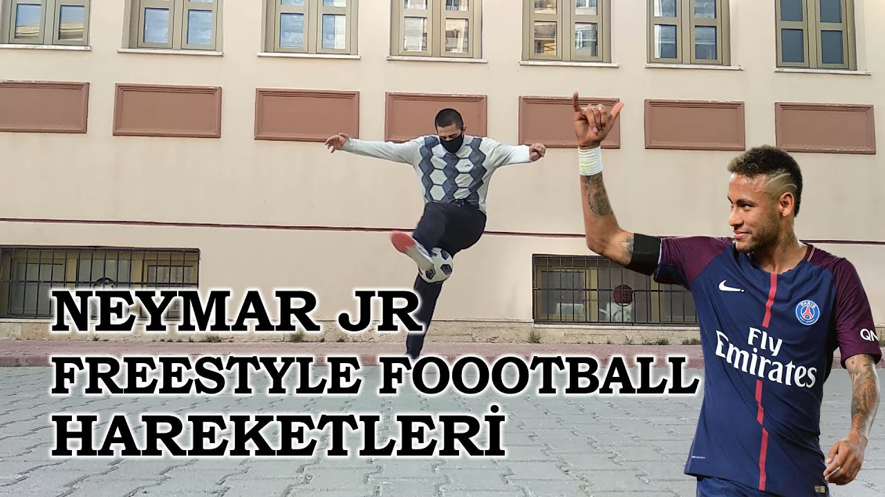 Neymar Jr Freestyle Football Hareketleri | Türkiye Freestyle Football 2020