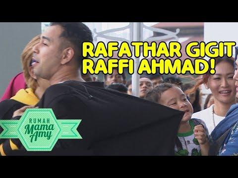 Raffi Ahmad Godain Cewek Ini, Tiba Tiba Rafathar Marah Sampai Gigit Raffi - Rumah Mama Amy (14/11)