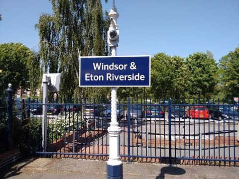 Full Journey on South West Trains from London Waterloo to Windsor & Eton Riverside