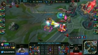 fly quest vs team envyus highlights game 3 na lcs w6d2 spring 2017  blitzcrank support