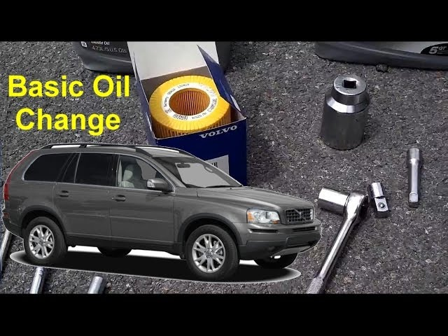 How to Change Engine Oil on 2007 Volvo XC90: 12 Steps