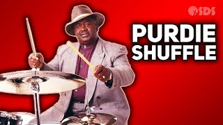 How To Drum - The Purdie Shuffle