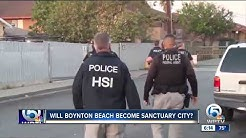 Boynton Beach to consider becoming sanctuary city
