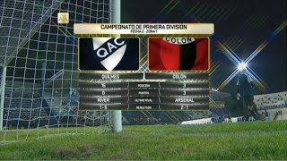 Quilmes vs Colon de Santa Fe full match