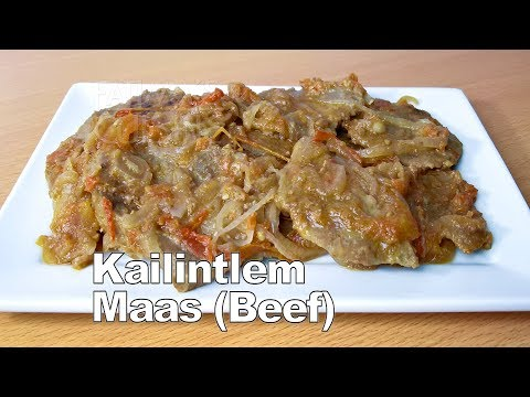 Kailintlem Maas Recipe | Roast Beef With Onion And Tomato | Authentic Goan Recipes | Beef Recipes