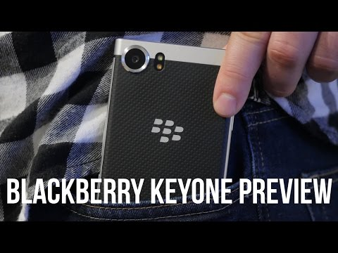 BlackBerry KEYone preview: bringing the physical keyboard back from the dead