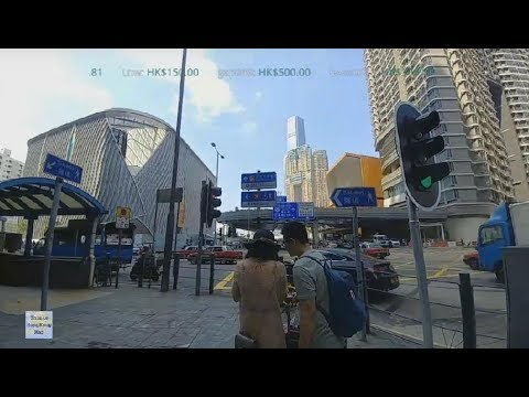 📱Hong Kong Life Live - Walking from HungHom Station to Highspeed Station @ West Kowloon (2018-10-3)