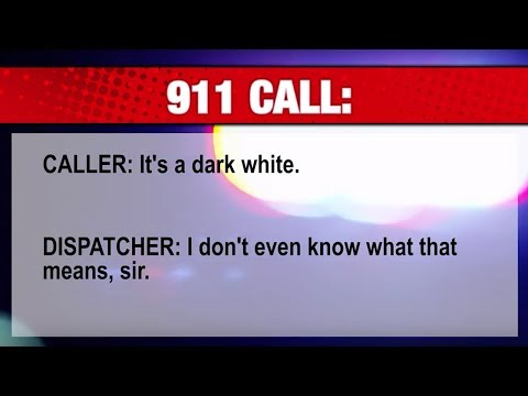 """DARK WHITE SKIN"" 911 CALL!"
