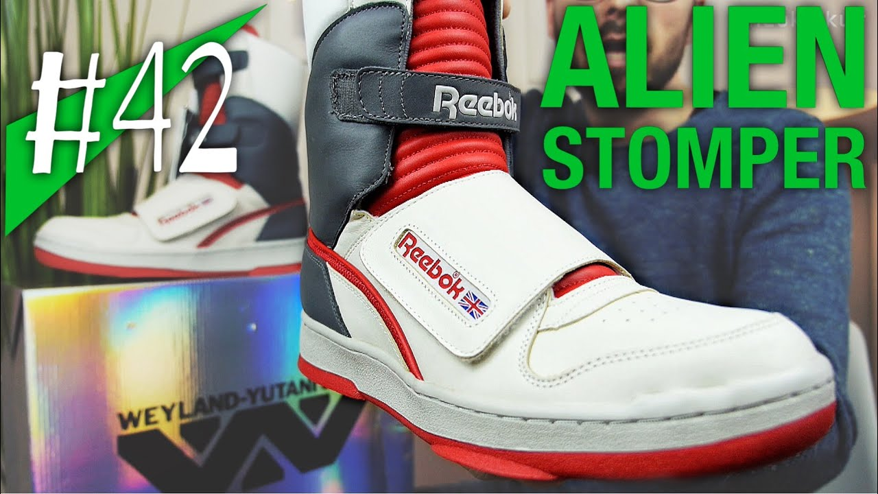 ad79f4c677b262 42 - REEBOK ALIEN STOMPER HI - Review on feet - sneakerkult - YouTube
