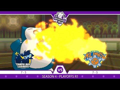 REMATCH! | Playoffs Round 1 Tampa Bay Luxrays vs New York Klinks | NPA Season 4