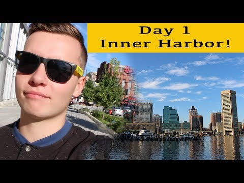 CARNIVAL PRIDE CRUISE VLOG 2017 Day 1 | Baltimore Inner Harbor!