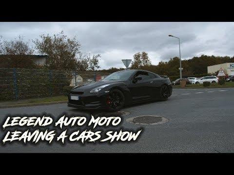 Legend Auto Moto 49 (Novembre) - MASERATI, GTR , PORSCHE, MUSTANG...   LEAVING A CARS SHOW