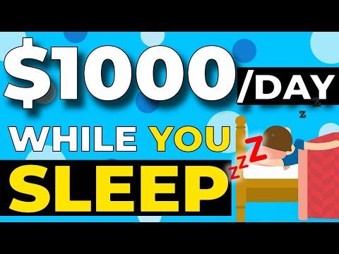 Make $1,000 Per Day While You Sleep - Make Money Online (WORLDWIDE)
