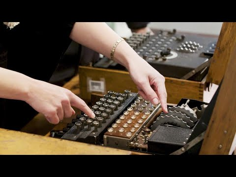 An Inside Look at Enigma Machines from WWII