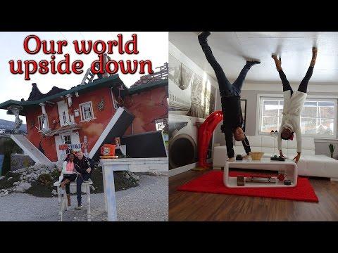 OUR WORLD UPSIDE DOWN | Austria travel 2017 | Vlog #14