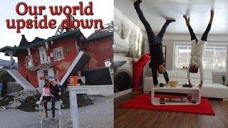 OUR WORLD UPSIDE DOWN | Austria travel 2017 | Vlog #14