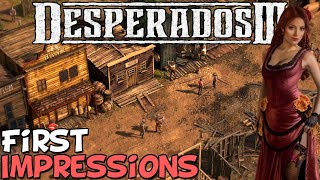 "Desperados 3 First Impressions ""Is It Worth Playing?"""