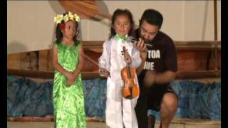 Mairaro n Mahina Kanvatoa At the Niue Arts and Cultural Festival 2009
