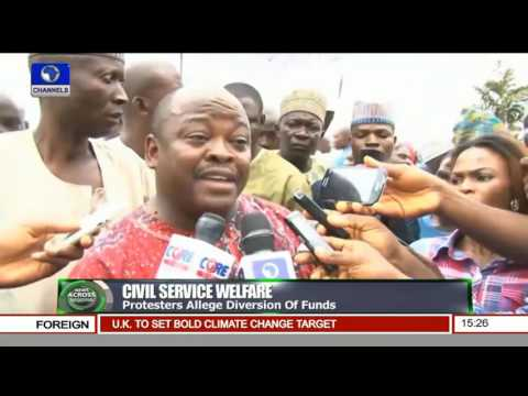Civil Service Welfare: Local Government Staffs Protest In Kwara State