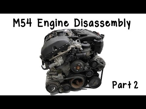 Part 2: BMW M54 Engine Disassembly (Intake Manifold and Harness Removal)