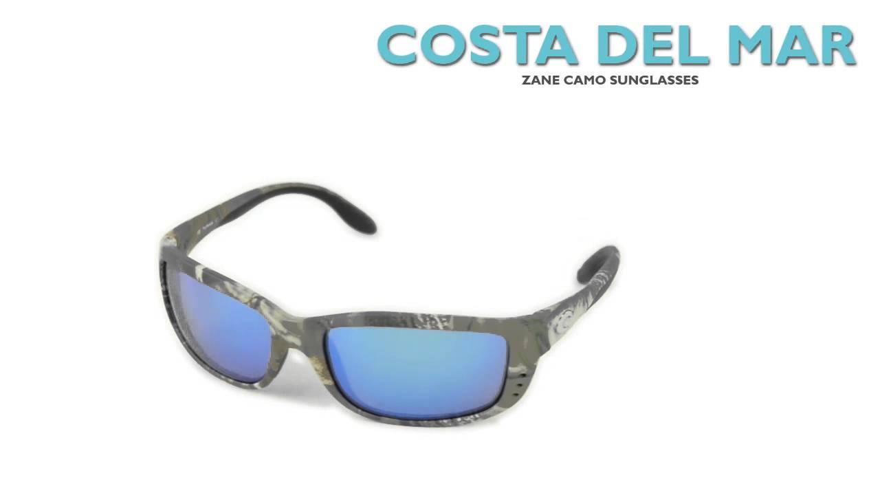 9de7b45ea5 Costa Zane Camo Sunglasses - Polarized 400G Glass Mirror Lenses ...