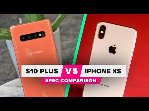 Galaxy S10 vs. iPhone XS: Spec comparison
