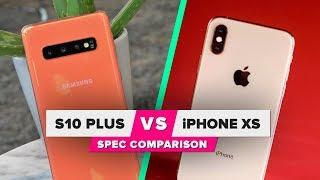 Galaxy S10 vs. iPhone XS: Spec comparison